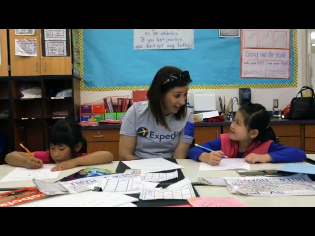 Expedia Cares | Tutoring Seattle Elementary Students