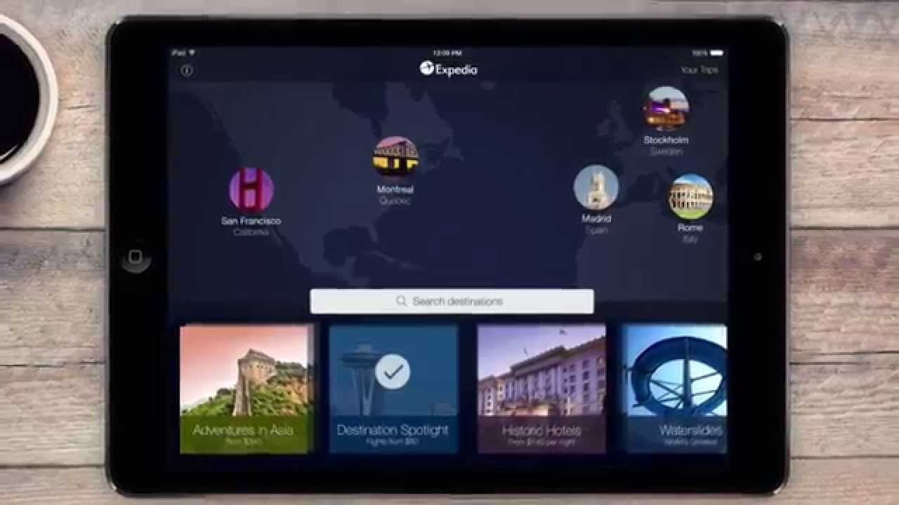 Introducing the New Expedia Tablet App (30 seconds)