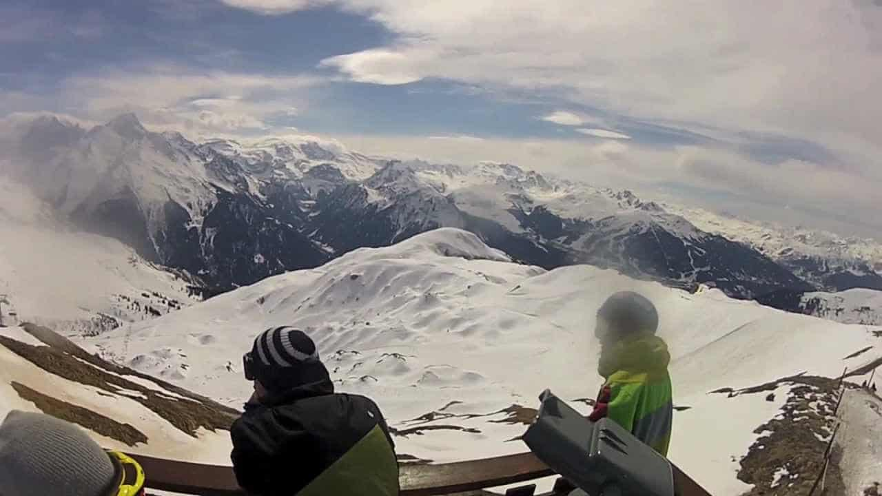 La Plagne, France - Snowboarding in the Alps (Travel Videoblog 015)
