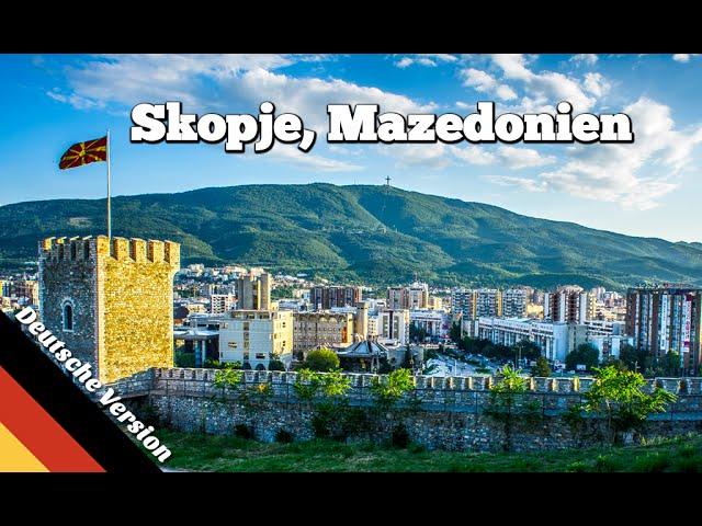 Sehenswürdigkeiten in Skopje, Mazedonien (Balkan Roadtrip, Folge 02)